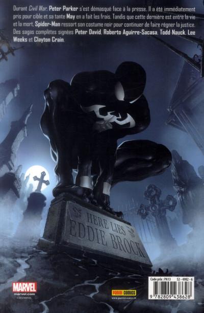 Dos Spider-Man - Retour au noir