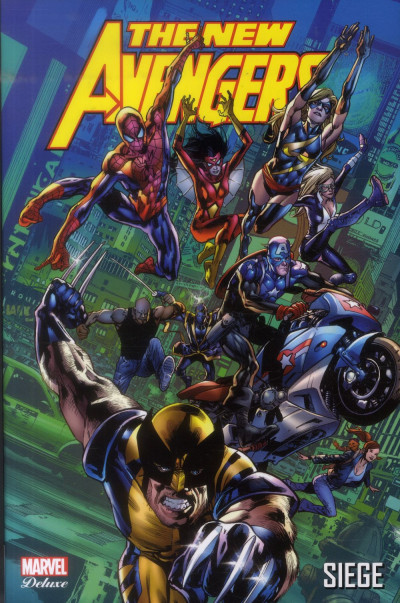 Couverture New Avengers tome 7