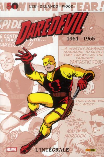 Couverture Daredevil - Intégrale 1964-1965