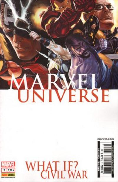 Couverture Marvel Universe N.3 ; what if ? civil war