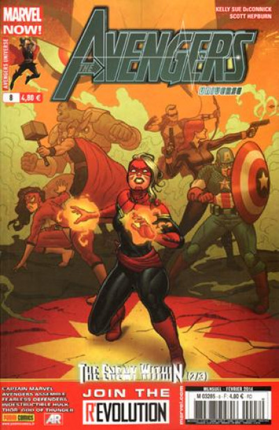 Couverture Avengers Universe tome 8