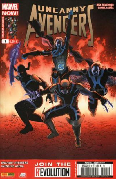 Couverture Uncanny Avengers N.9