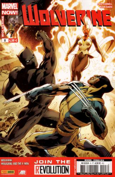 Couverture Wolverine 2013 tome 8