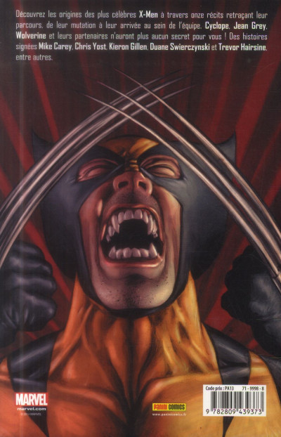 Dos X-Men - Les Origines