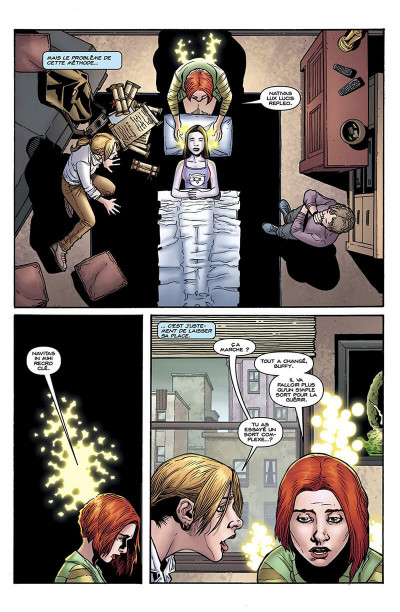 Page 5 Buffy contre les vampires - saison 9 tome 5