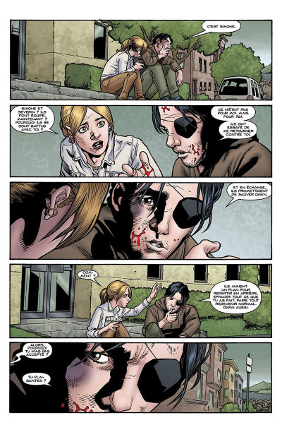 Page 8 Buffy contre les vampires - saison 9 tome 5