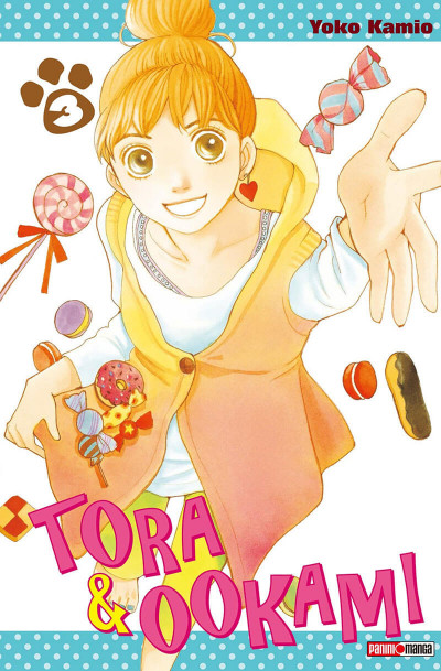 Couverture Tora & Ookami tome 3