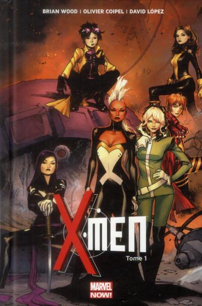 Couverture X-Men tome 1