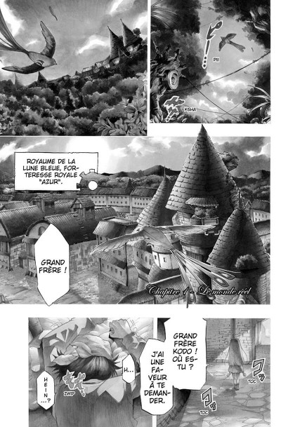 Page 0 Blue Blood Gear tome 1