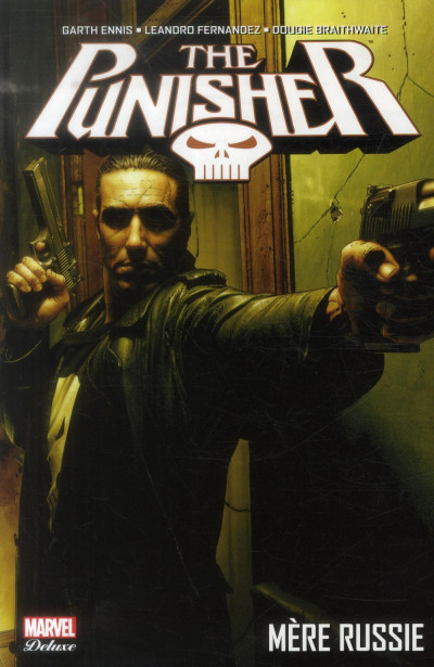 Couverture The punisher tome 2 - mère Russie