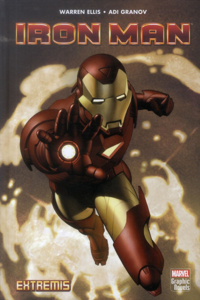 Couverture Iron-Man extremis