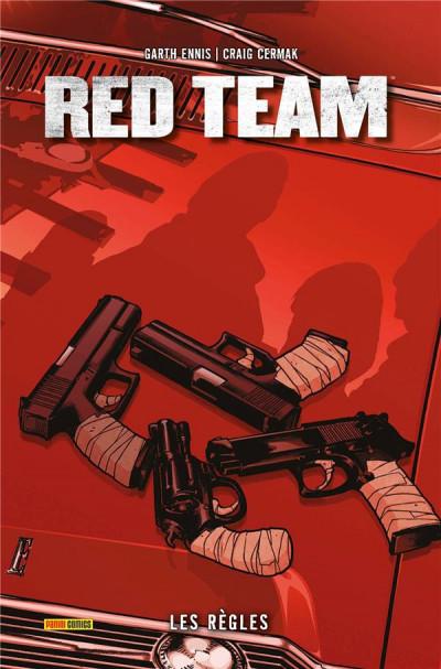 Couverture red team tome 1 - les règles