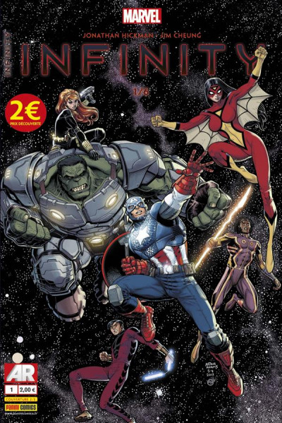 Couverture Infinity 01 tome 2 arthur adams