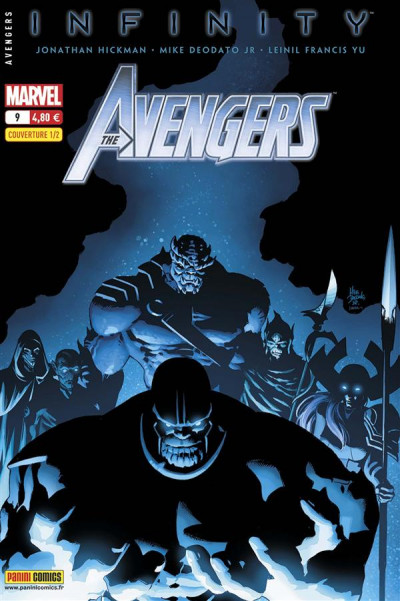 Couverture Avengers N.2013/9 ; Infinity