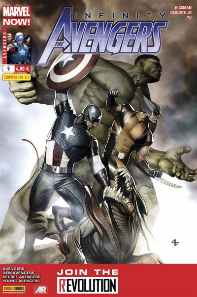 Couverture Avengers tome 9 infinity