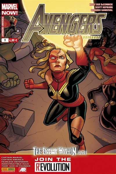 Couverture Avengers universe tome 9