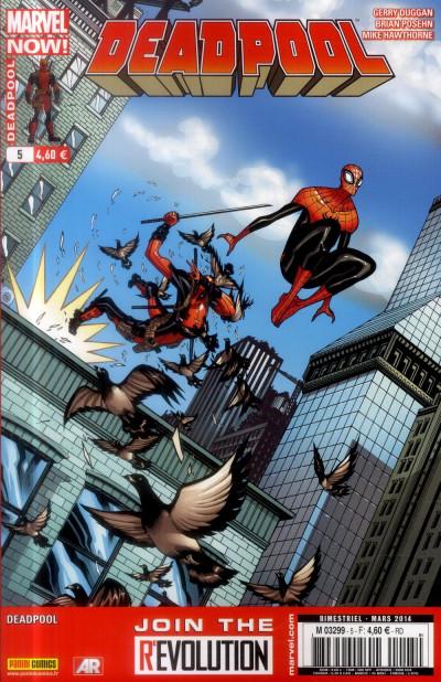 Couverture Deadpool 2013 tome 5