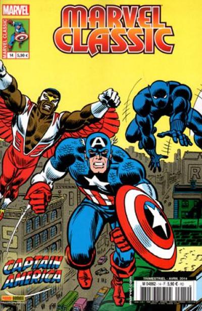 Couverture marvel classic 14 captain america