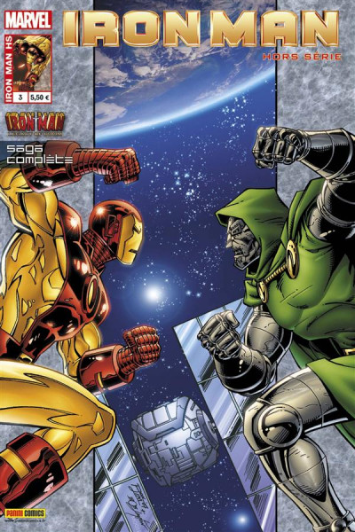 Couverture Iron man 2012 hs 003 fatal héritage