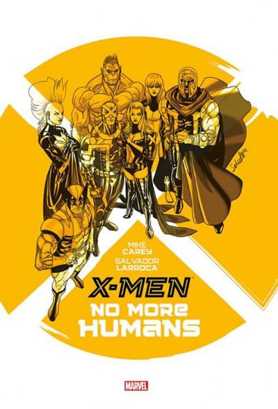 Couverture X-Men - No more humans
