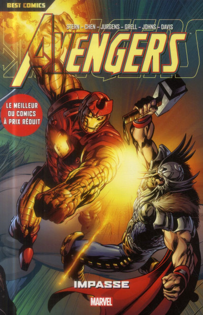 Couverture Avengers tome 5