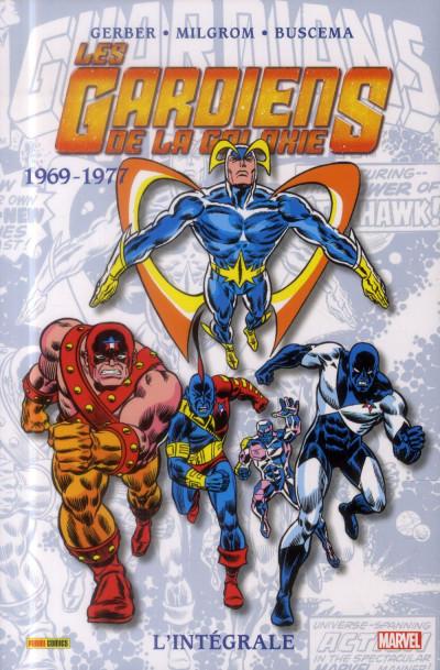 Couverture Les Gardiens de la galaxie - Intégrale 1969-1977