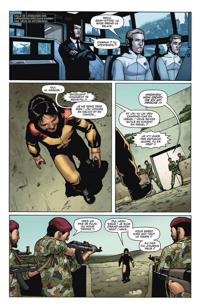 Page 0 Harbinger tome 3
