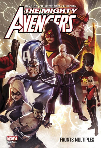 Couverture The Mighty Avengers - Fronts multiples