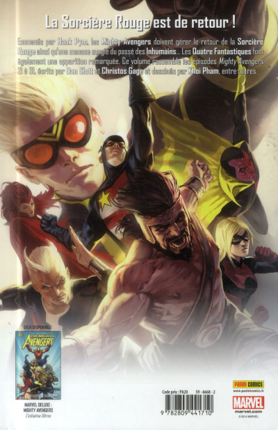Dos The Mighty Avengers - Fronts multiples