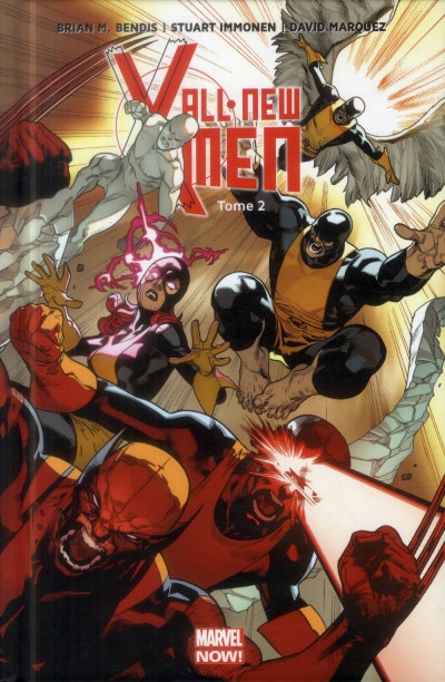 Couverture All New X-Men tome 2