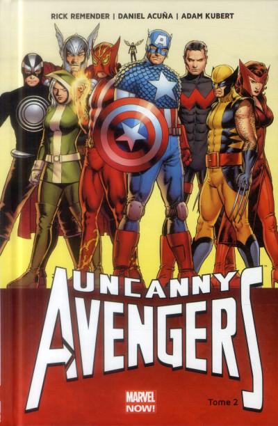 Couverture Uncanny Avengers tome 2