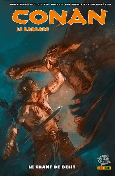 Couverture Conan le barbare tome 4