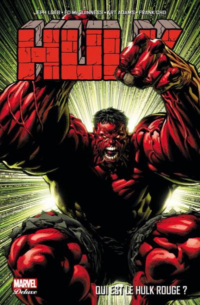Couverture Hulk tome 1 - Qui est le Hulk rouge ?