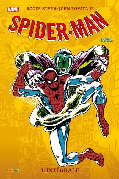 Couverture Spider-Man - Intégrale 1982