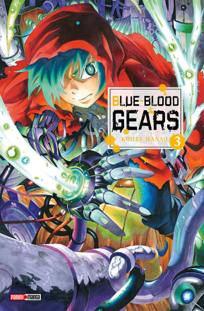Couverture Blue-Blood Gears tome 3