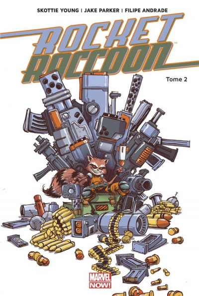 Couverture Rocket Raccoon tome 2