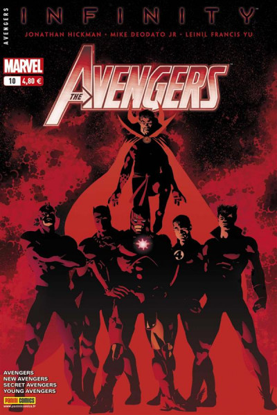 Couverture Avengers 2013 tome 10