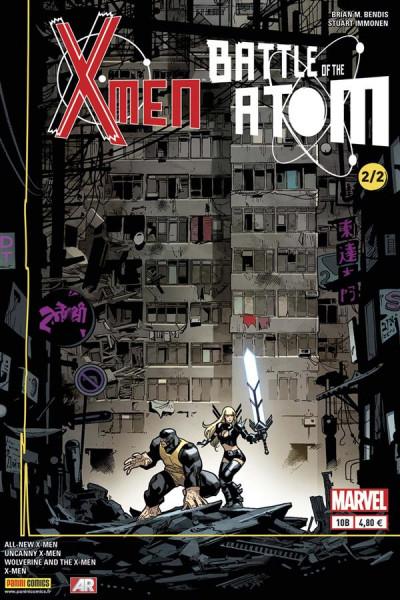 Couverture X-Men N.2013/10 ; la bataille de l'atome 2/2