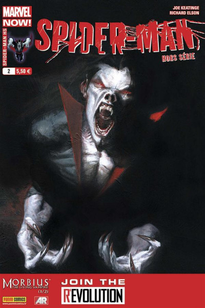 Couverture Spider-Man 2012 HS tome 2 - Morbius 1/2