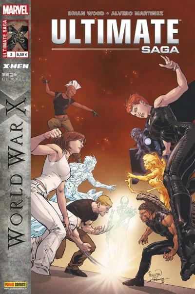 Couverture Ultimate saga n.3 ; world war X
