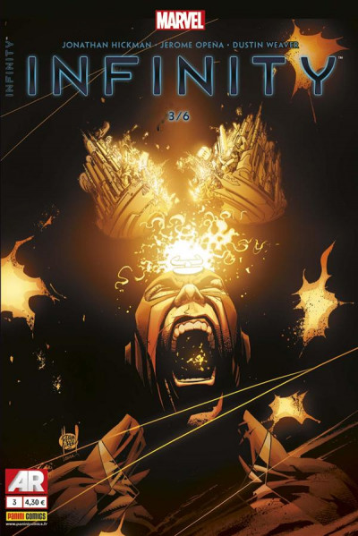 Couverture Infinity Tome 3