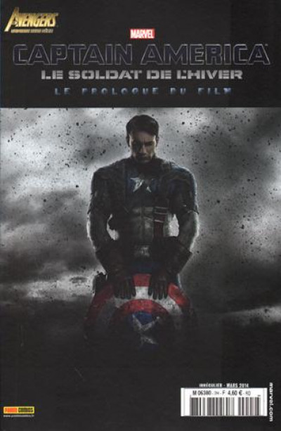 Couverture Avengers Universe H S 02 Captain America, Le Soldat De L'Hiver - Le Prologue Du Film