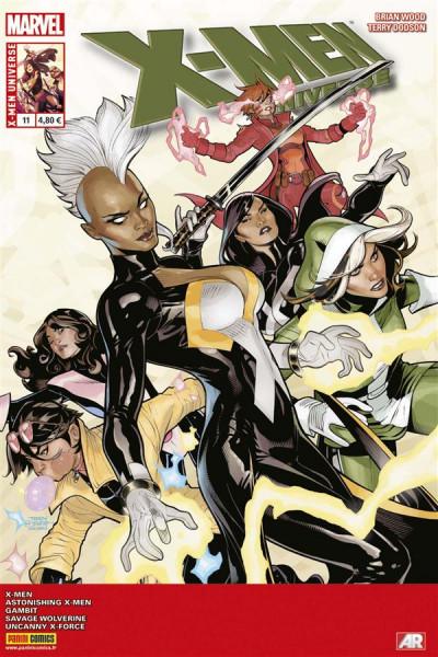 Couverture X-MEN UNIVERSE N.11 ; x-men universe 2013 011