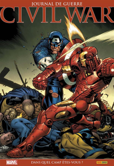 Couverture Civil War - marvel absolute tome 2
