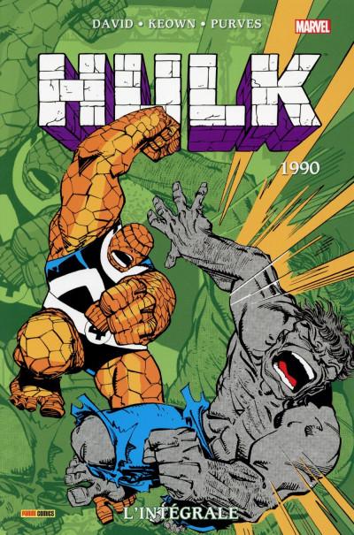 Couverture Hulk - Intégrale 1990