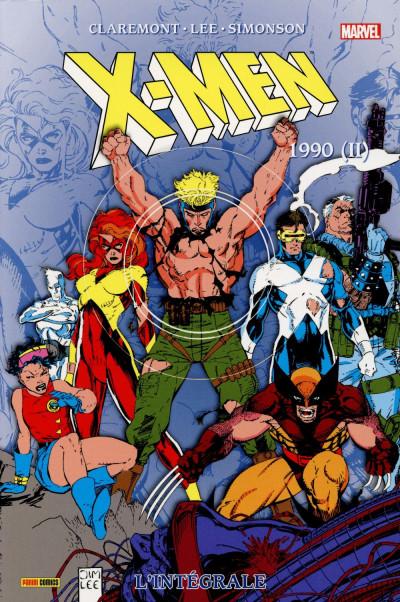 Couverture X-Men - Intégrale 1990 (II)