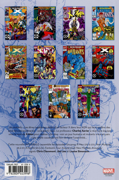 Dos X-Men - Intégrale 1990 (II)