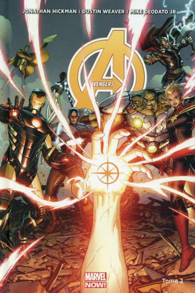 Couverture Avengers tome 2
