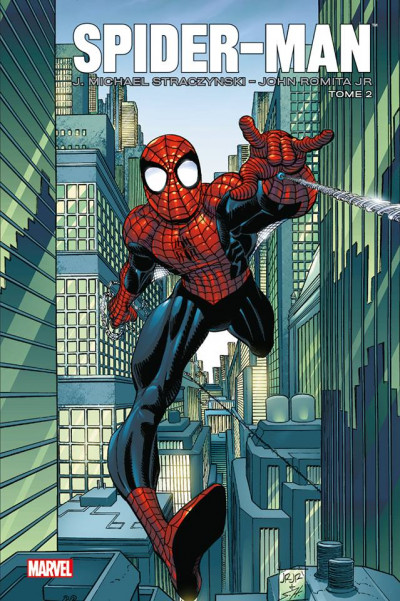 Couverture Spider-Man par J.M. Straczynski tome 2