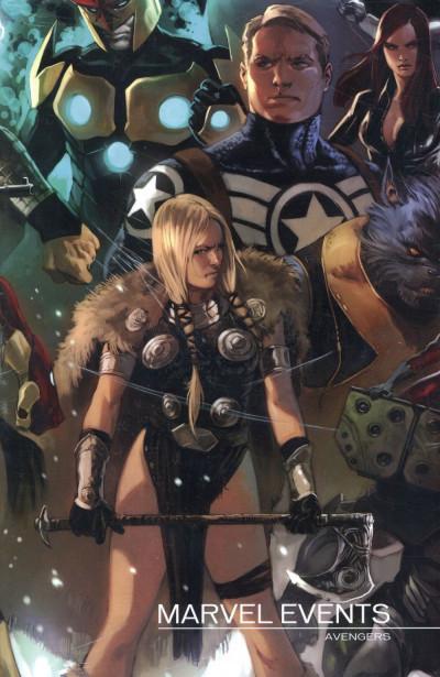 Couverture Marvel Events - Coffret Avengers